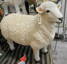 Sheep Garden Statue 68 x 77 cmOrnament Ceramic Life Size BRAND NEW,  PICK UP