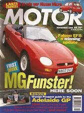 Motor Nov 95 EF Falcon update MGF Civic Cielo Ghibli Odyssy Tarago Liberty Wagon