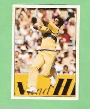 1985 SCANLENS CRICKET STICKER #14  ASANTHA DE MEL, SRI LANKA