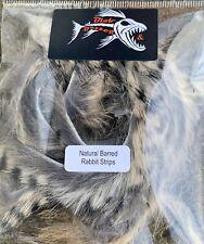 Natural Barred Rabbit Strips 3mm