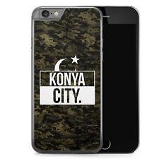 iPhone 6 6s Hard Case Hülle - Konya City Camouflage Motiv Design Türkei Türkiye
