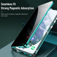 360 Privacy Anti Spy Full Glass Magnetic Case For Samsung S21 Ultra S20 FE 5G