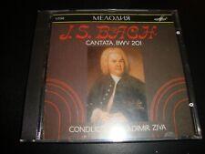VLADIMIR ZIVA CONDUCTOR - J.S. Bach : Cantata, BWV 201 CD Album SEALED USSR