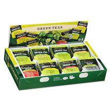Bigelow Green Tea Assortment Individually Wrapped Eight Flavors 64 Tea Bags/Box