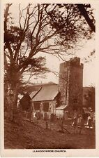WALES -  LLANDDOWROR,  Church, Real Photo by Stanley Phillips, Saint Clears.