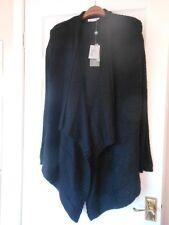 WINDSMOOR black wrap waterfall cardigan size S, 10 12 BNWT