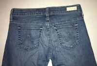 Women's Adriano Goldschmied AG Jeans Size 27 Reguarl Tomboy Crop Relaxed