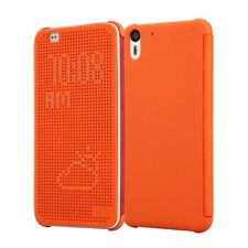 CUSTODIA ORIGINALE INVENTCASE ® per HTC DESIRE EYE DOT VIEW HC M160 CASE ARANCIO