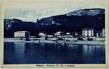Cartolina Formato Piccolo - Pedaso - Stazione FF.SS. E Spiaggia Viaggiata