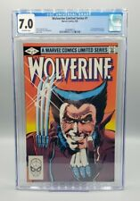 Wolverine #1 CGC 7.5 Limited Series Frank Miller 1st solo series Marvel (1982)