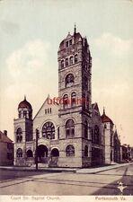 PRE-1907 COURT STR. BAPTIST CHURCH PORTSMOUTH, VA