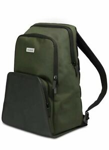 Moleskine Nomad Collection Medium Backpack, Green / Black New With Tags