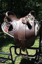 Australian Stock Saddle Brown Leather Outrider Outback