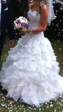 Amanda Wyatt Acapulco Wedding Dress. Size 12 but taken in slightly at the sides.