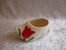 Vintage Ceramic Dutch Shoe Candy Dish-Mfg by Loft Candy Corp