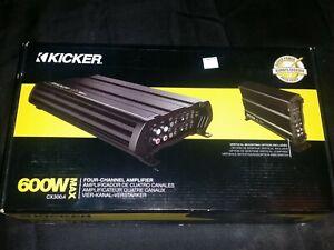 Kicker 12CX3004 4x75 Watt 4-Channel Amplifier