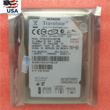 "Hitachi Travelstar 120GB 2.5"" ATA/IDE 5400 RPM Hard Drive HTS541612J9AT00 HDD US"