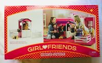 """Girl Friends Wooden Horse Stable & Accessories for 18"""" Dolls -Brand New in Box!"""