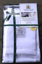 McCaw Allan 1,200-Count 100% Linen Queen Duvet Set Queen Elizabeth's Linen - New