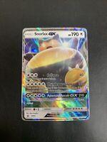 Snorlax GX - Pokemon Card - Black Star Promo SM05 - Rare Holo Full Art - NM