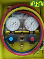 1pc New Refco Bm2 6 Ds R410a Fluorine Filled Pressure Gauge Set W5057 Wx