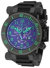 New Mens Invicta 18729 Coalition SWISS MADE Chronograph PURPLE Dial  Watch