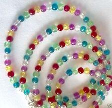 Glass Tibetan Silver Beaded Costume Bracelets