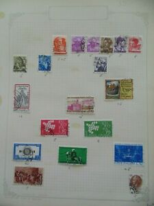 PA 177 - Page Of Mixed Italy Stamps
