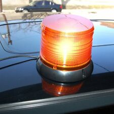 12V - 24V LED Orange Clignotant Beacon Lightbar rotatif Strobe Récupération lumières UK