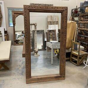 NEW Carved doorframe mirror