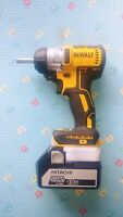 Dewalt 18v Cordless Brushless Driver/ Drill To Hitachi Battery Adapter
