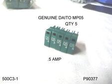 FUSE  DAITO MP05 0.5 AMP LOT 5 FUSES