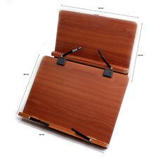 Portable Book Holder Stand Reading Desk Holder MDF Jasmine Plus1 KOREA