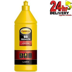 Farecla G3 Premium 1kg Abrasive Compound Remove P1500 Swirls/Sanding Marks