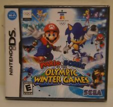 New! Mario & Sonic at the Olympic Winter Games (Nintendo DS, 2009)