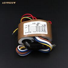 115V / 220V 30VA Four 9V R type transformer With shielded wire output 30W (4x9V)