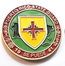 HAPPY VETERANS DAY PUERTO RICO Challenge Coin STATE GUARD Army National Guard