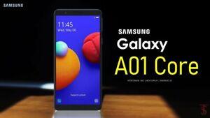 SAMSUNG GALAXY A01 CORE 16GB UNLOCK SMARTPHONE DUAL SIM 2020 MODEL BRAND NEW