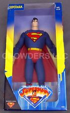 """Animated Series SUPERMAN 12"""" Fully Poseable Action Figure Kenner Warner Bros '98"""