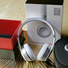 Beats by Dr. Dre Solo3 Wireless limited edition silver new