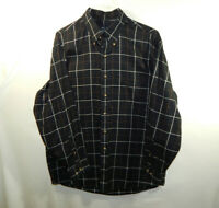 Jos. A. Bank Mens Long Sleeve Button Front Casual Oxford Dress Shirt Size LARGE