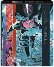 Ghost In The Shell (with slipcover) - ULTRA 4K HD Blu Ray    - sealed