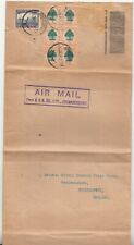 South Africa: Long Airmail Cover; Johannesburg to Southamption, 24 January 1934