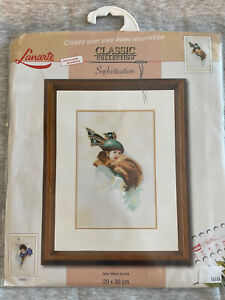 Lanarte Counted Cross Stitch Kit | Sophistication | Classis Collection 3485