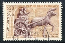 STAMP / TIMBRE FRANCE OBLITERE N° 1378 JOURNEE DU TIMBRE 1963