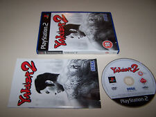 YAKUZA 2 - Playstation 2 PS2 - UK PAL - EXC COND - Boxed & Complete