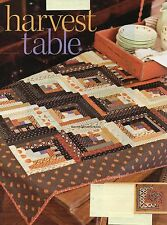 Harvest Table Quilt Pattern Pieced BC