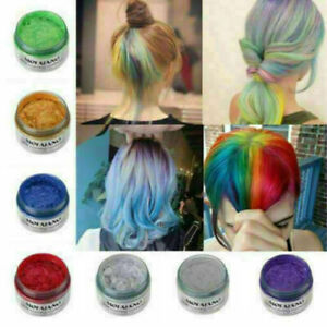 Unisex DIY Hair Color Wax Mud Dye Cream Temporary Modeling 7 Colors mofajang thm