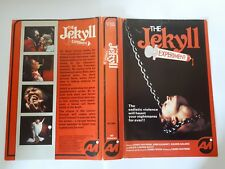 The Jekyll Experiment VHS AVI Pre Cert x horror Art of the Nasty