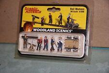Woodland Scenics Scenic Accents #1898 Rail Workers New